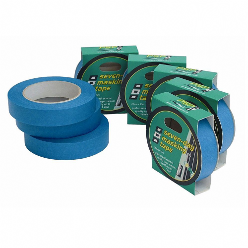 PSP Marine 7 Day Blue Paper Masking Tape 25mm x 25mtr